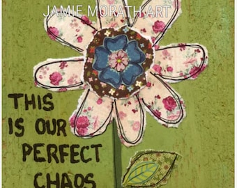 Perfect Chaos, art print