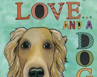 DISCOUNTED Love and Dog