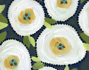 Something Blue, flower art print