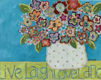 Live Laugh Loveland, wall decor