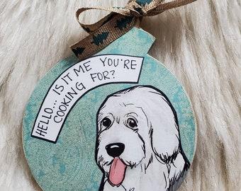 Sheepdog ornament