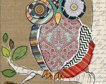 Owl, art print