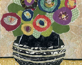 Thinking Outside the Box, flower art print