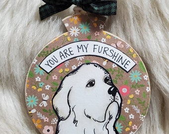 Great Pyrenees ornament