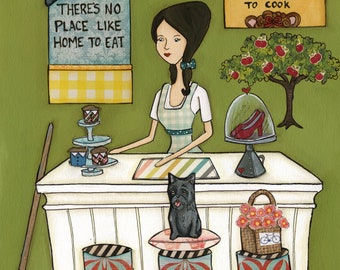 Courage To Cook, art print