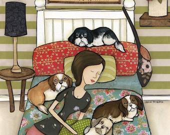 Down To Sleep, art print