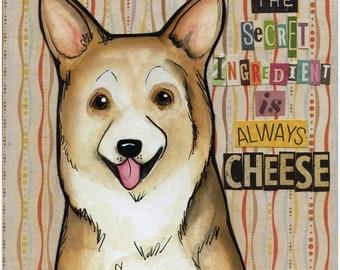 Always Cheese, art print