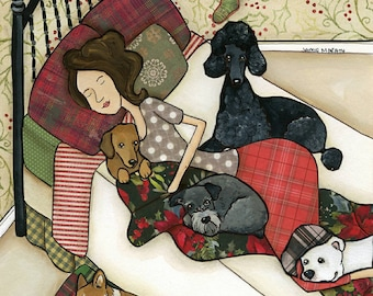 To All a Goodnight, art print