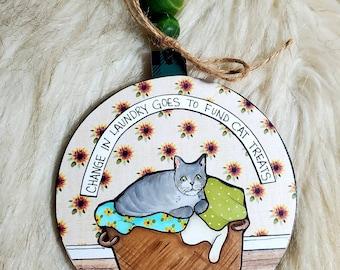 Landry Cat ornament