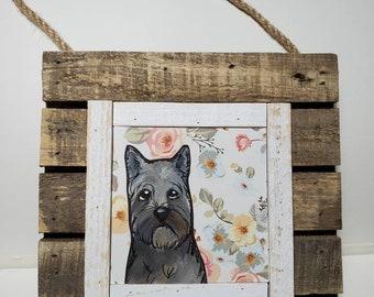 Cairn Terrier, original painting