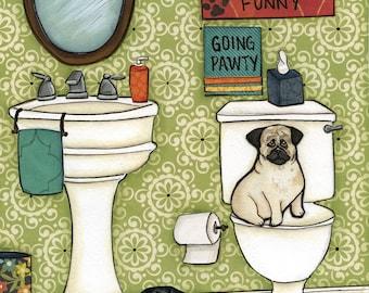 Puggy Farts, art print