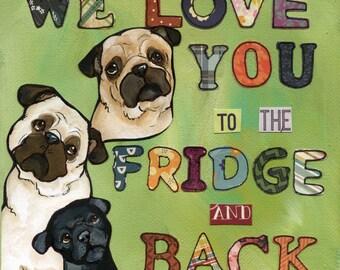 We Love You, art print