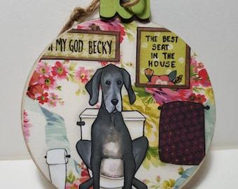 OMG Becky ornament