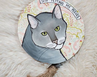 Peeves, cat ornament