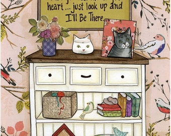 I'll Be There Cat, wall art