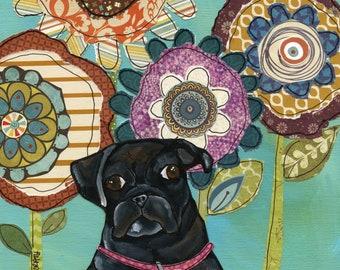 DISCOUNTED Black Pug