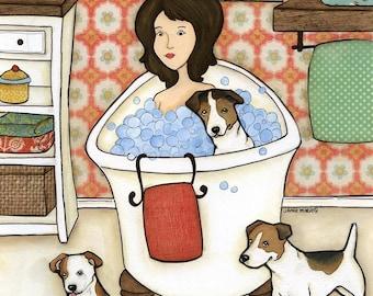 Wash My Jack, wall art