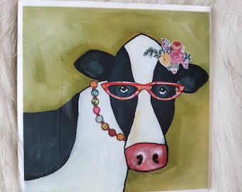 Betty Cow coaster