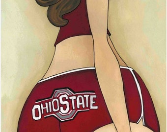 OSU, art print