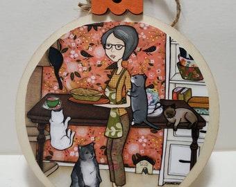 Grandma's Cookin ornament