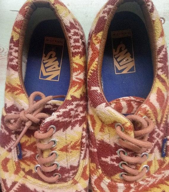 Vans Pendleton Shoes off the Wall Southwestern De… - image 2