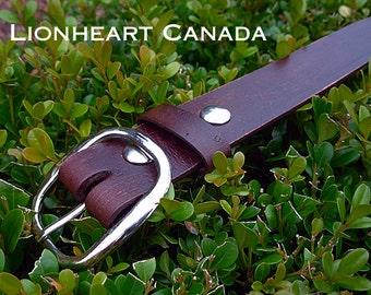 Antiqued Leather Belt