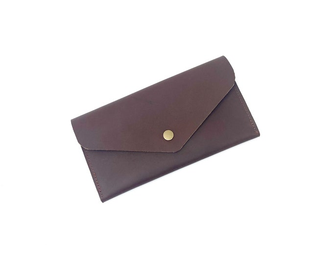 Arwen oil tan leather wallet