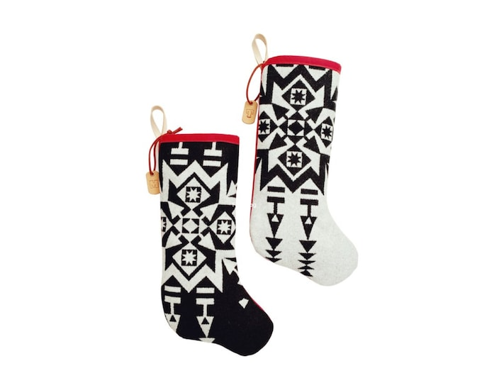 Featured listing image: Pacific Northwest Christmas Stocking - Pendleton Wool