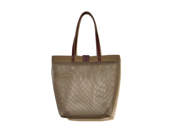 Willa - polyester mesh beach bag