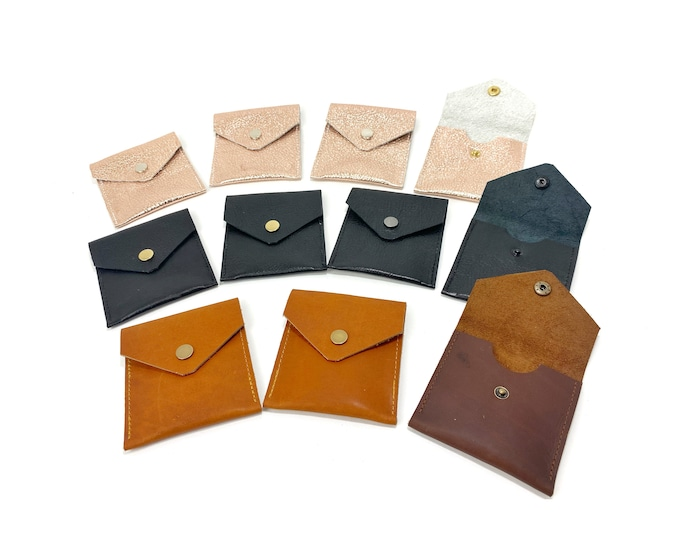 Alden Leather snap wallet