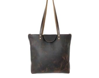 Ramsey - Oil Tan Leather Shoulder Bag