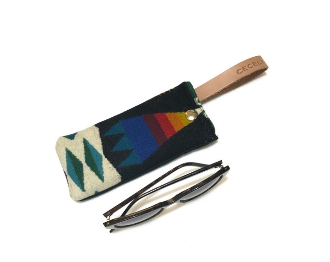 Wool Sunglass case - bright