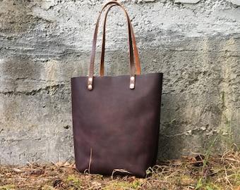 Nova Oak - Oil Tanned Leather Tote