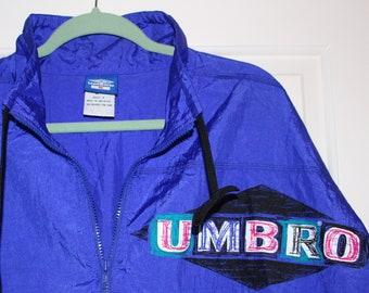 51c26ac30cd Vintage Umbro Windbreaker Jacket (Size M)