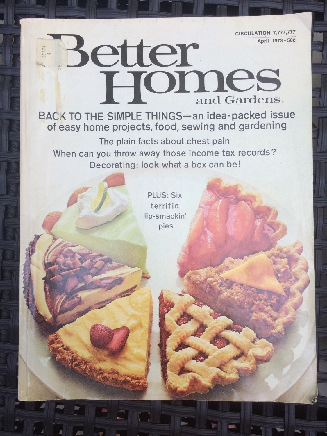 Vintage Better Homes and Gardens Magazine. April 1973 Edition. How ...