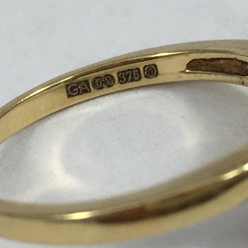 10th Anniversary Gift Vintage Diamond Wedding Band in a Wishbone Style April Birthstone