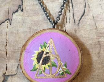 HP Hand Painted Necklace