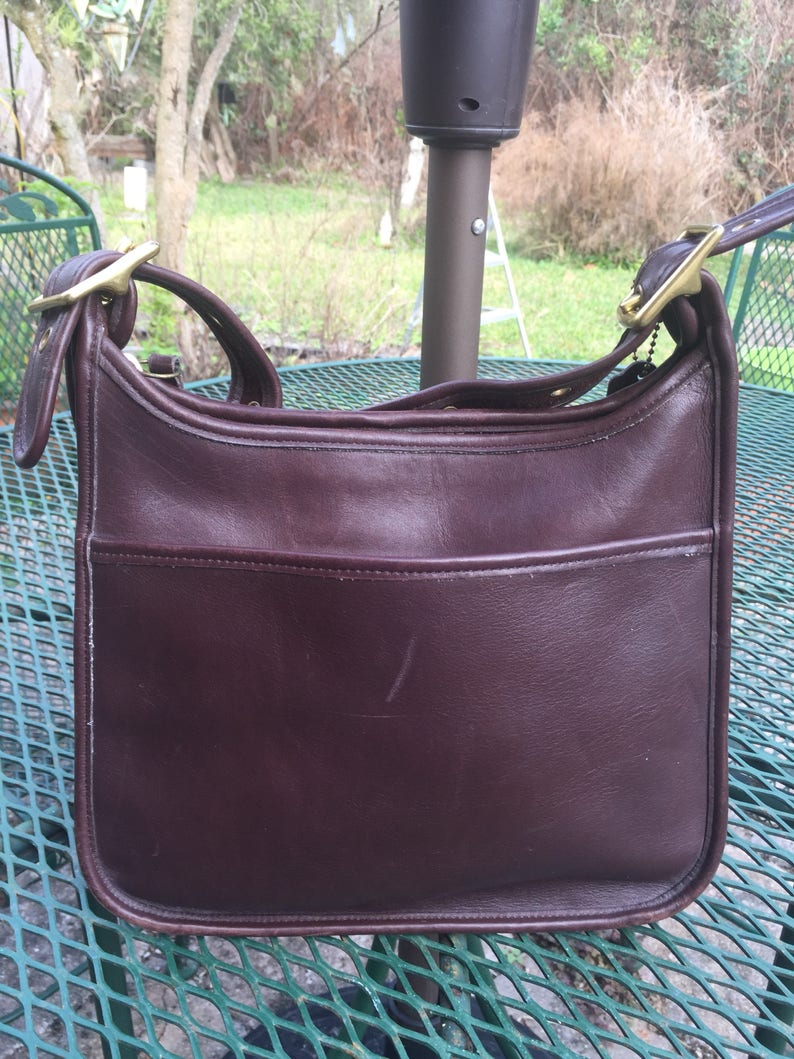 Authentic Vintage Coach Legacy shoulder bag K6B-9966 brown leather  Crossbody Purse Coach leather bag cff90ce5104a6
