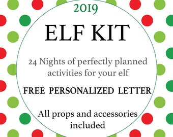 graphic regarding Elf on the Shelf Printable Props referred to as Elf upon the shelf Etsy
