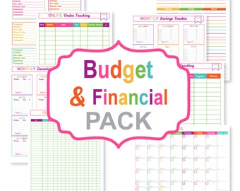 image relating to Printable Monthly Bill Organizer identified as Monthly bill organizer Etsy