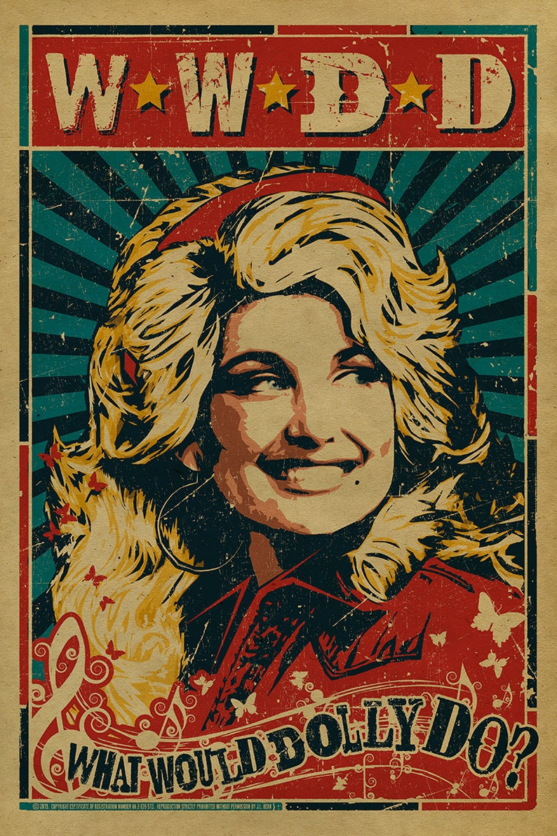 WWDD  What Would Dolly Do Country Music. Dolly Parton. image 0