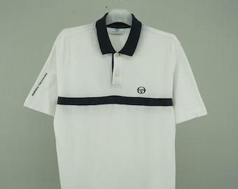88b9f7604e59 Sergio Tacchini Shirt Vintage Sergio Tacchini Polo Shirt Men s Size S