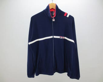 771303eb3ee8 Fila Jacket Vintage Fila BJ Jacket Fila BJ Activewear Men's Size XL Made In  Italy