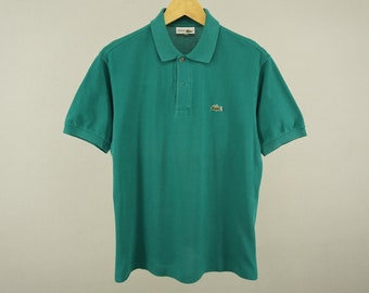 8acd7a69 Lacoste Shirt Vintage Lacoste Polos Shirt Vintage Lacoste Polo Shirt  Chemise Lacoste Polo Shirt Men's Size S