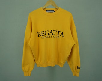 c4417cd5e8470f Regatta Sport Club Sweater Men s Size M Vintage Regatta Sport Club Crewneck  Pullover
