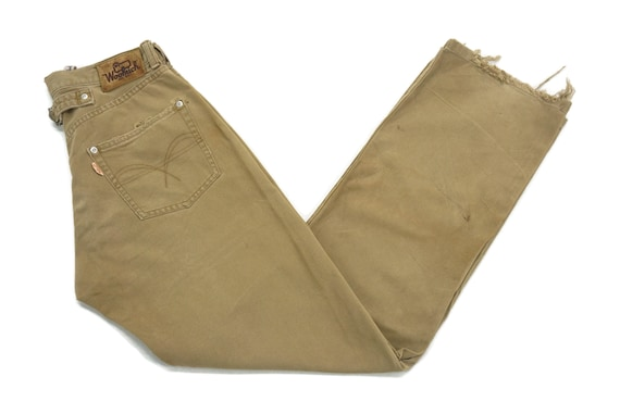 Woolrich Jeans Size W29xL31.5 Vintage Woolrich Dis