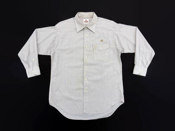 Baracuta Shirt Mens Size M/L Baracuta Button Up Sh