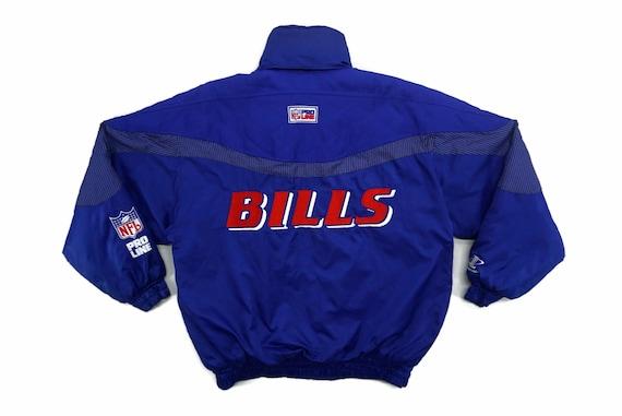 Bills Jacket Mens Size L Vintage Buffalo Bills Win