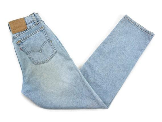 Levis 560 Jeans Size 9 MED W29.5xL32 90s Levis 560
