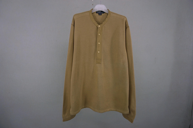 43d42ef08374e5 Taille Polo Ralph Lauren Sweat Vintage Polo Ralph XXXL Lauren pull  demi-bouton homme XXXL